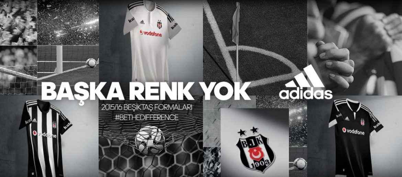 Adidas 2015/16 Beşiktaş Formaları