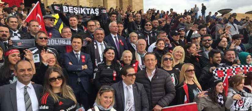 En Büyük Beşiktaşlı ATA'mızın Huzuruna Çıktık