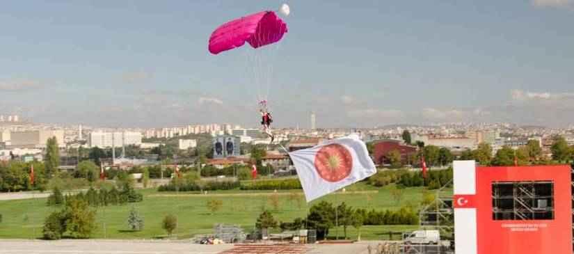 29 Ekim 2015 Cumhuriyet Bayramı Gösteri Atlayışları