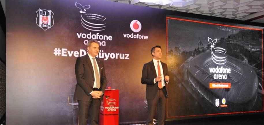 Vodafone Arena 11 Nisan'da Açılıyor