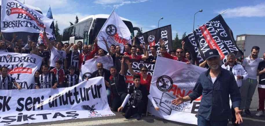 Beşiktaşımız İçin Yine Yollara Düştük