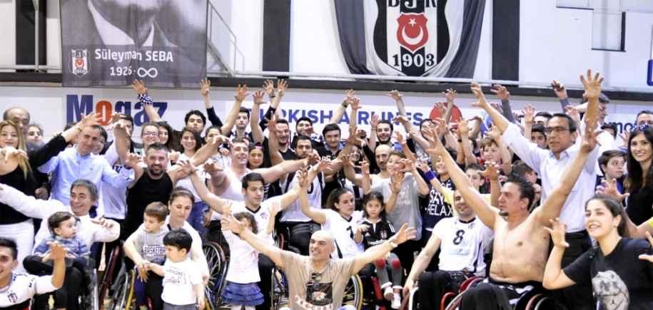 Şampiyon Beşiktaş RMK Marine