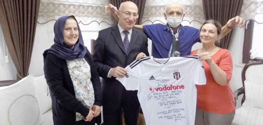 Beşiktaş JK ve Dernek Üyemiz Niyazi Can'ı Ziyaret Ettik