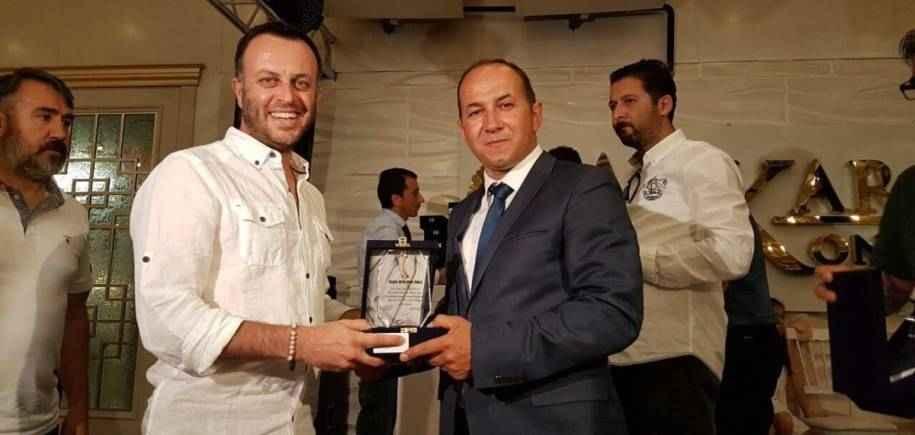 Volkan Nakiboğlu'na Yaşam Boyu Onur Ödülü
