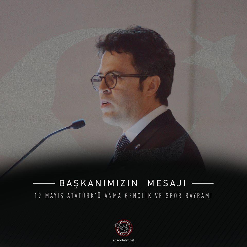 Dernek Başkanımız Kemal Erdoğan'ın 19 Mayıs Atatürk'ü Anma